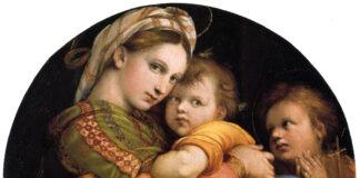 1513-Madonna-della-seggiola-Raffaello-Galleria-Palatina-Firenze
