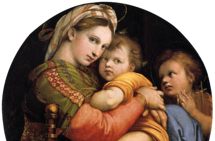 1513-Madonna-the-chair-Raphael-gallery-Palatine-Florence