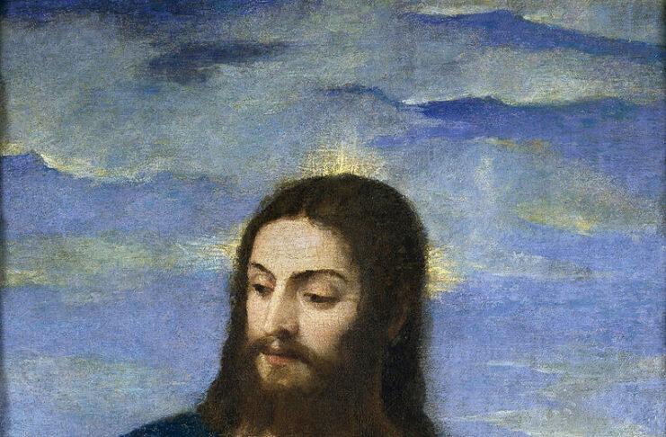 Cristo ritratto di Tiziano del 1553 al Museo del Prado