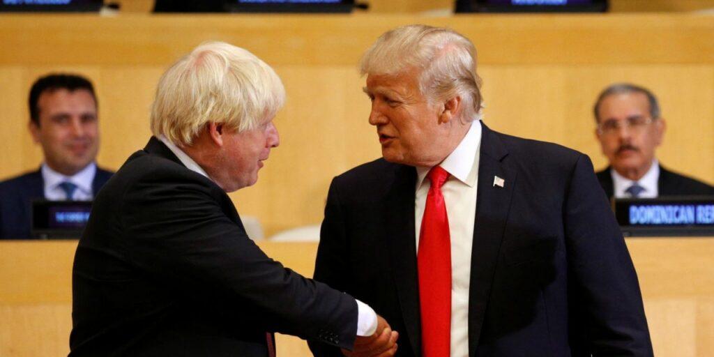 Trump e Johnson
