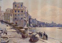 La Roma di Ettore Roesler Franz nei suoi acquarelli.