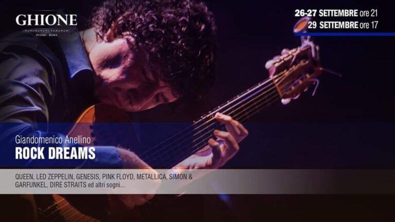 Rock Dream: un evento dedicato al Rock al Teatro Ghione Roma
