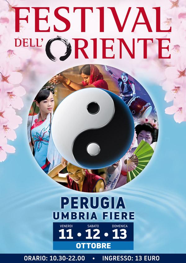 Al via oggi l'edizione umbra del Festival dell'Oriente fino al 13 presso UmbriaFiere (PG)