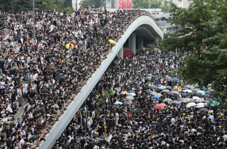 Hong Kong manifestazioni e proteste