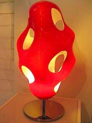 La lampada Bokka di Karim Rashid