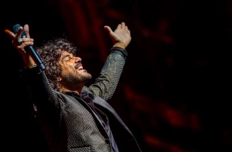 Francesco Renga è al Teatro Creberg di Bergamo