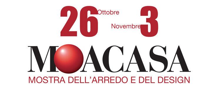 Da oggi al 3 novembre, MoaCasa 2019 presenta le novità e le tendenze del settore arredo alla Fiera di Roma