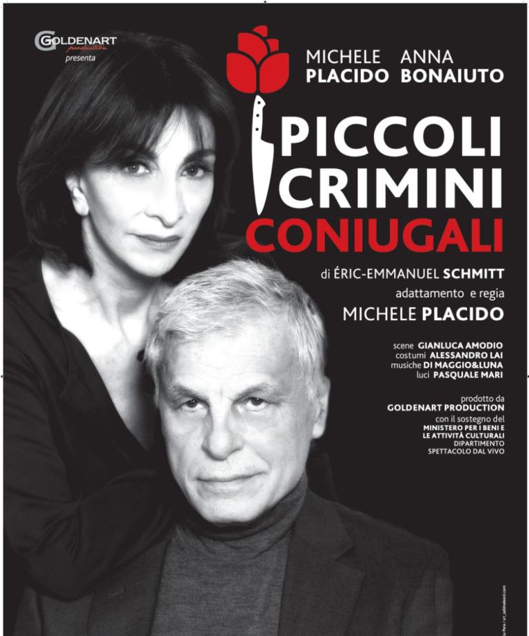 Teatro Quirino di Roma, Piccoli crimini coniugali con Michele Placido