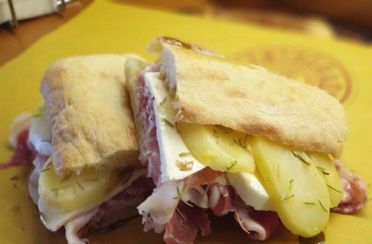 Рим: сэндвич-магазин 200 градусов