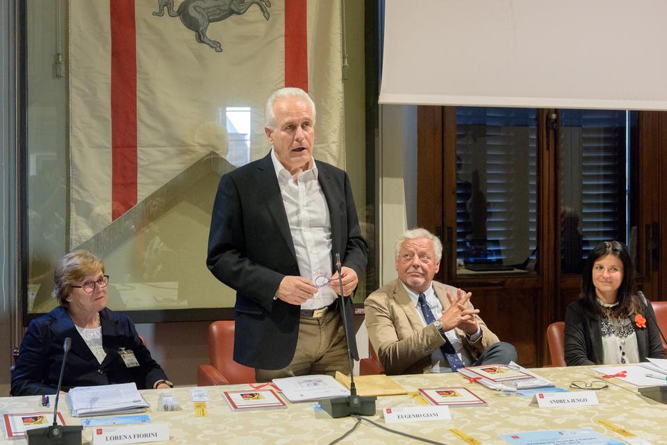 Firenze, 18 giugno 2018 presentazione Premio letterario Donne tra ricordi e futuro al Consiglio regionale per la Toscana con Eugenio Giani, Andrea Jengo, Serena Stefani, Lorena Fiorini