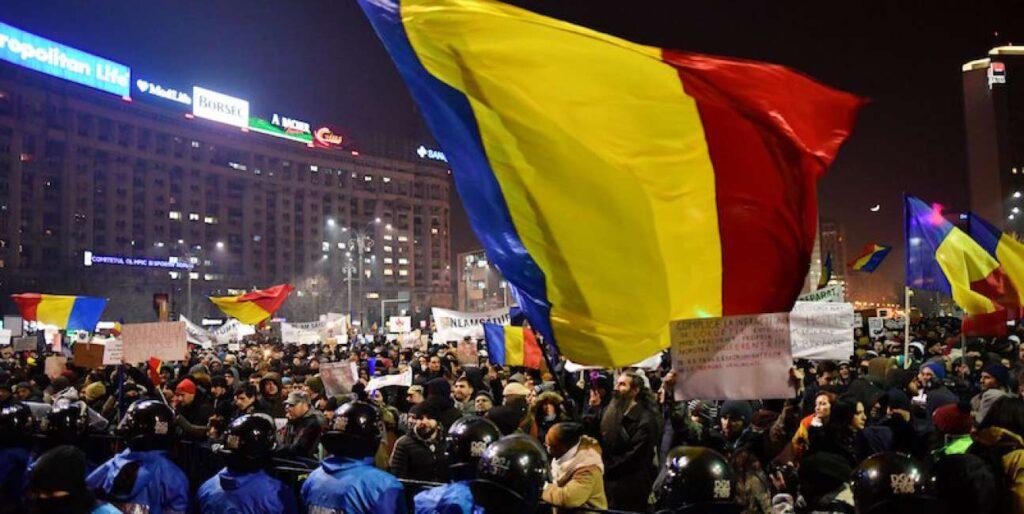 Romania proteste in piazza