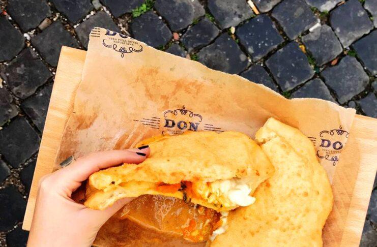 Roma: Don, vera pizza fritta napoletana