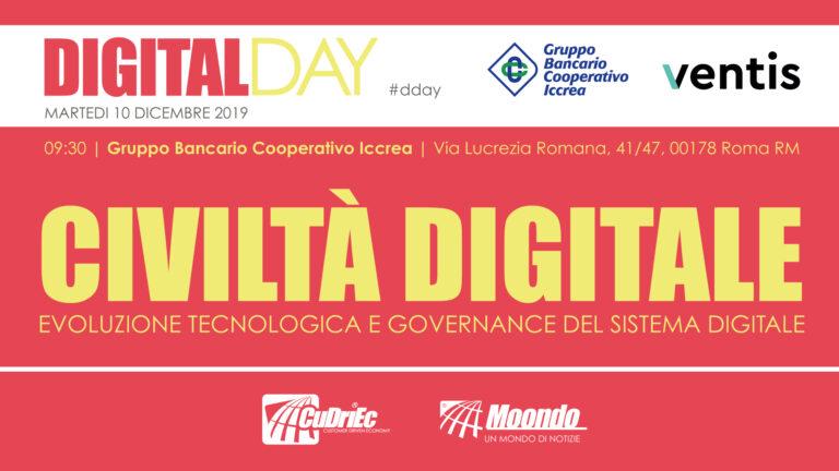 Oggi il Digital Day 2019