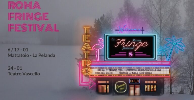 Roma Fringe Festival 2020: al Macro la presentazione ufficiale