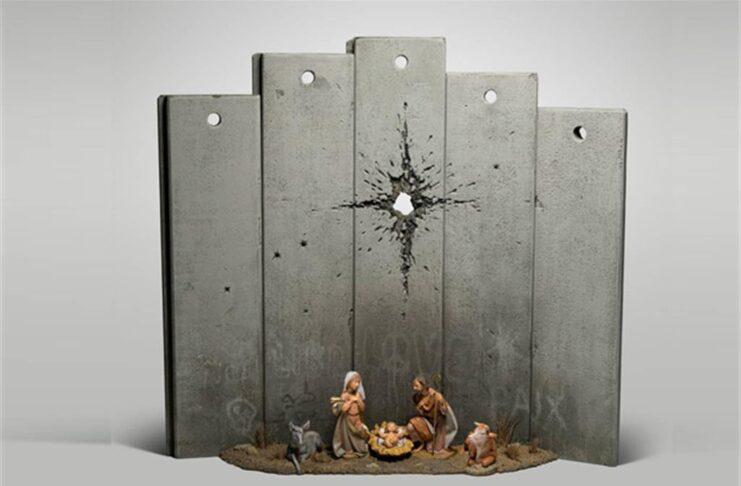 presepe Banksy a Betlemme