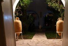 Maison Craxi ad Hammamet porta