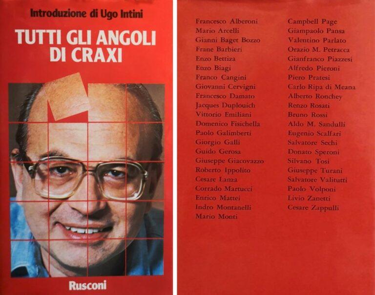 Quando Giampaolo Pansa raccontava Craxi: memorie da un libro ritrovato