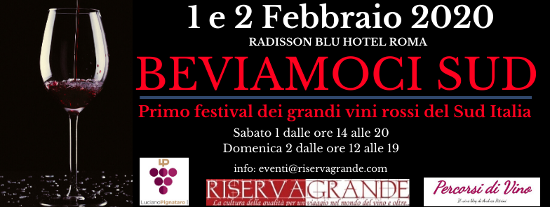 In Rome the first festival of the great red wines of Southern Italy