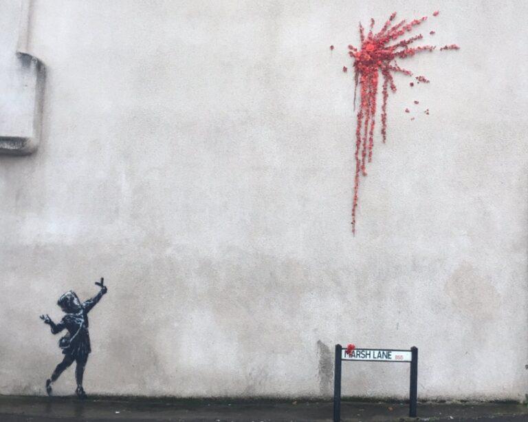 Banksy ricompare a Bristol per San Valentino?