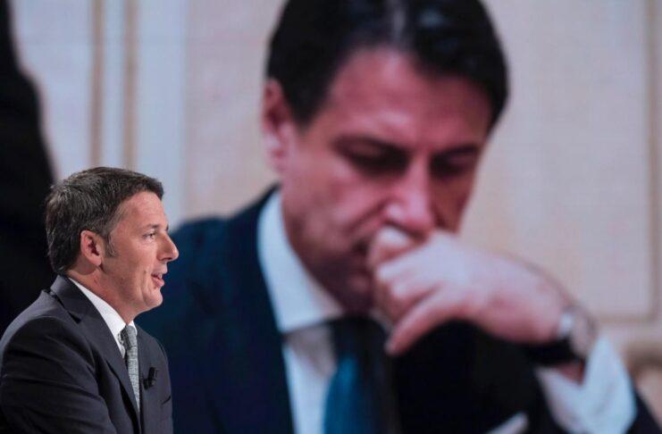 Clash Renzi Conte