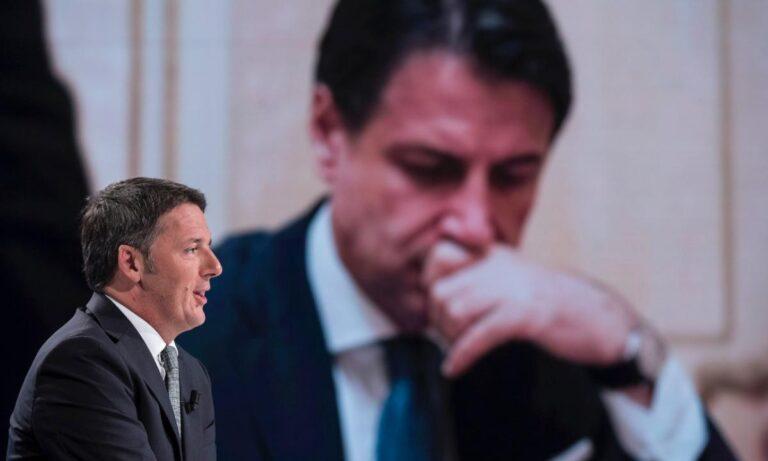 Lo scontro tra Renzi e Conte