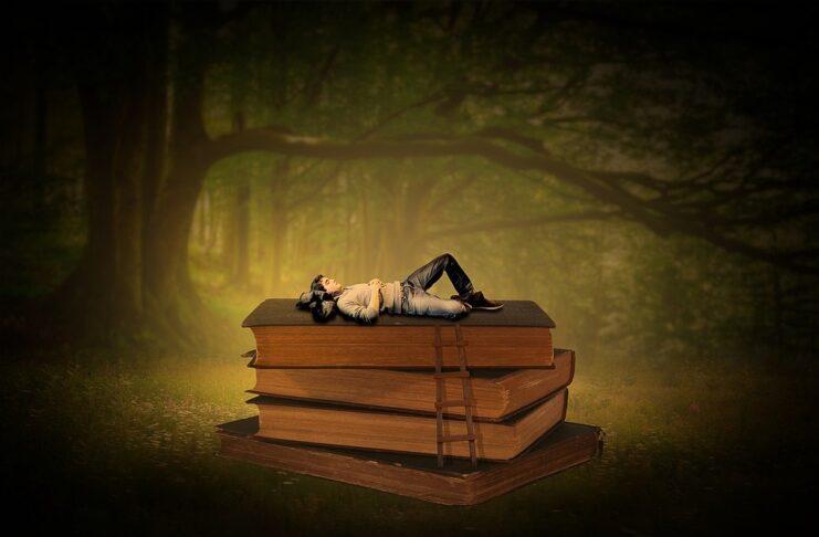 Fuggire attraverso un libro