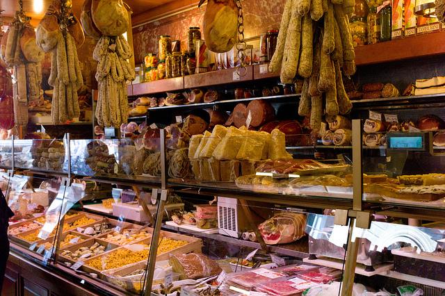 piccolo negozio alimentari