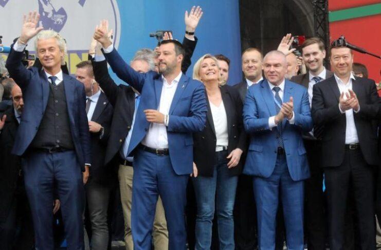 Leader ultradesta europea