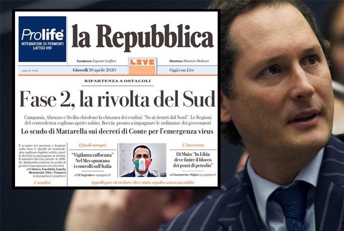 Riallineamento La Repubblica