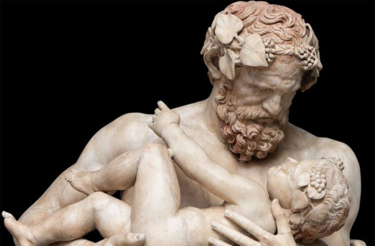 Sileno-con-Dioniso-bambino