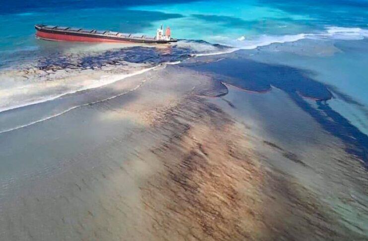Incidente Mauritius petroliera