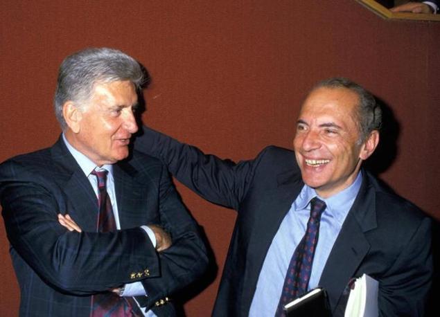 Enrico Manca e Sergio Zavoli