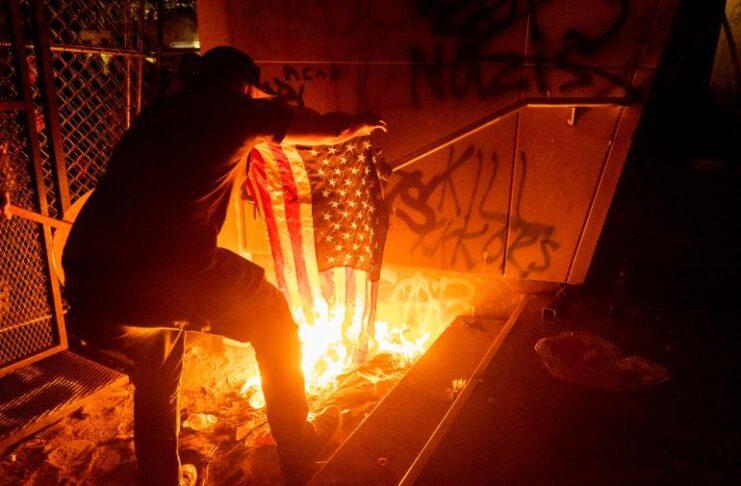 Washington, scontri a Portland