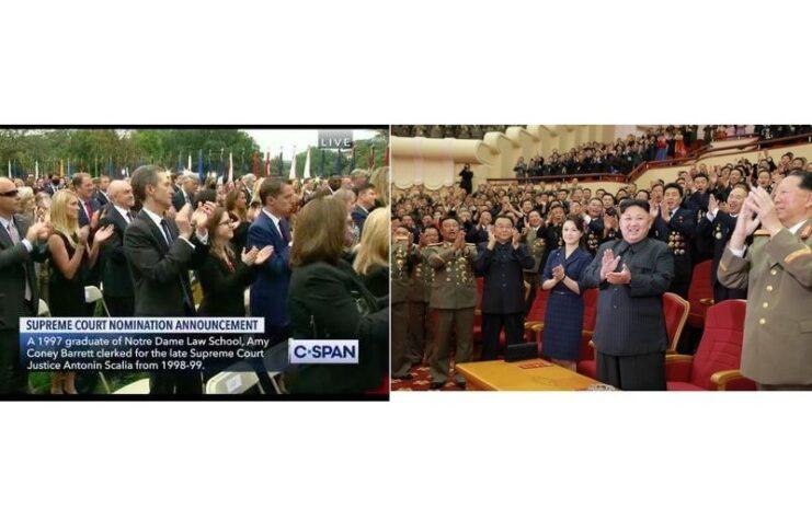 Al Rose Garden un evento degno di Kim Jong-un