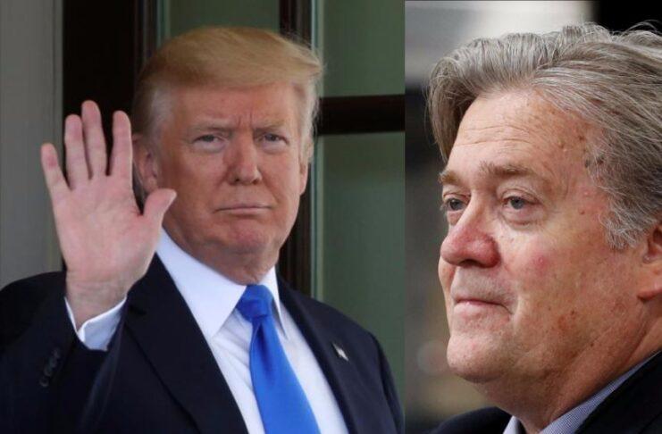Trump e Bannon