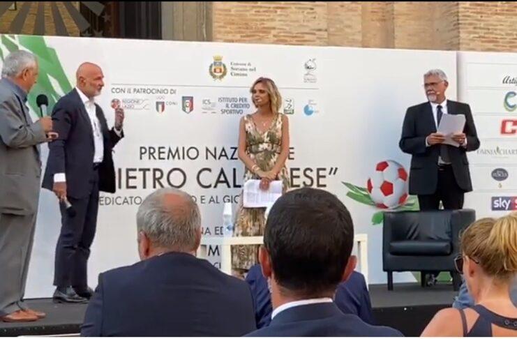 Pietro Calabrese. Il premio, lo sport, la vita.