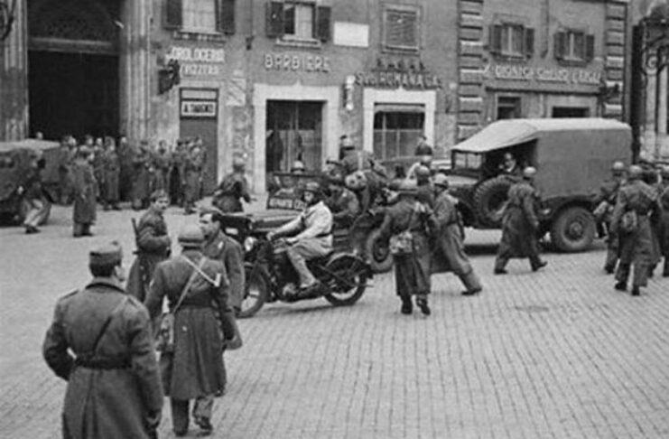 16 ottobre 1943 rastrellamento ghettor oma