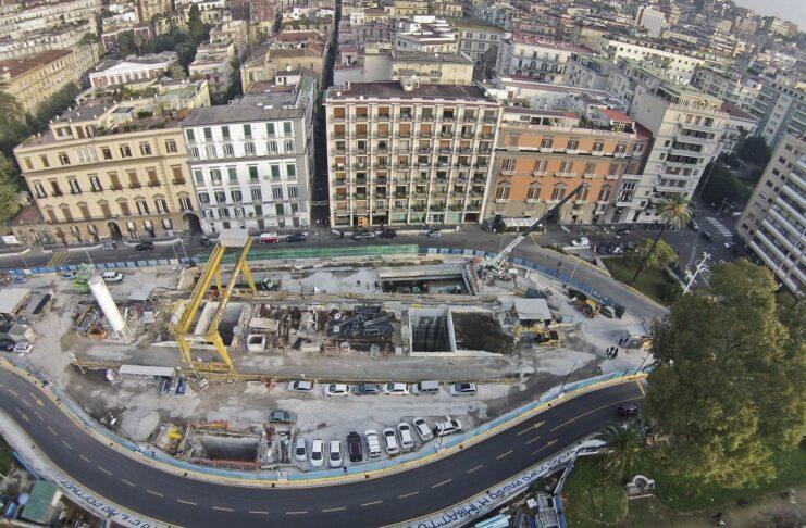 Lavori metro Napoli