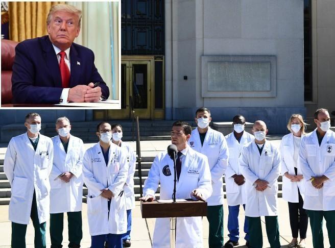 Le condizioni del presidente Trump