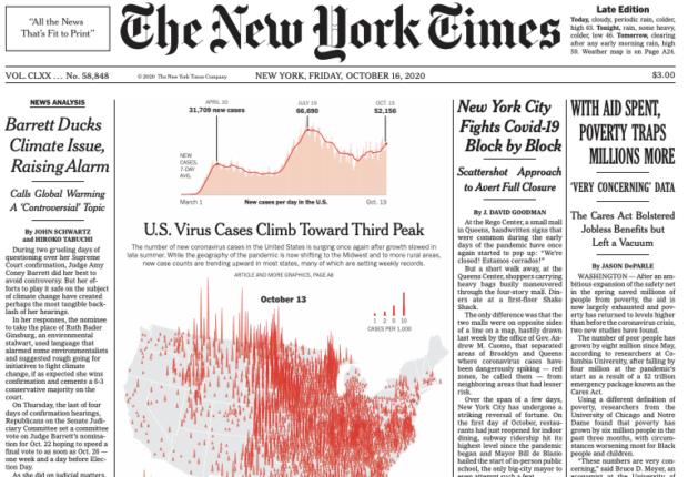 Sfogliando il NYTimes