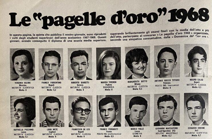 DOMENICA DEL CORRIERE - 1 OTTOBRE 1968