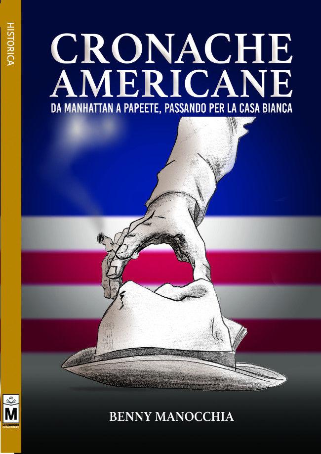 """Copertina del libro, """"Cronache Americane"""""""