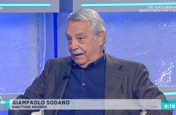 Giampaolo Sodano a UnoMattina