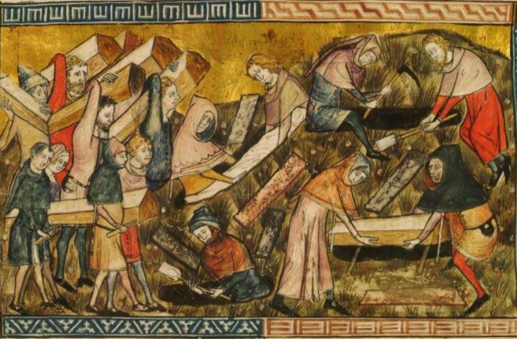 La peste bubbonica che colpì Turnai nelle cronache di Gilles Li Muisis (1272-2352).