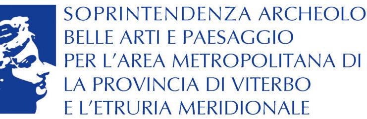 Logo-Soprintendenza Archeologia, Belle Arti e Paesaggio per l'Area Metropolitana di Roma, la Provincia di Viterbo e l'Etruria Meridionale
