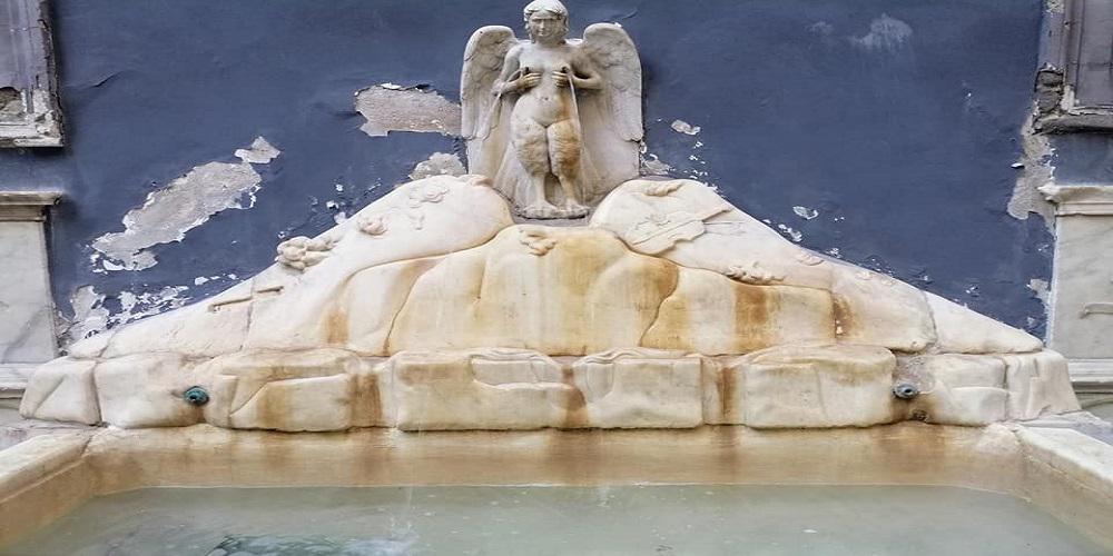 """La fontana della Spinacoronadetta """"delle zizze"""""""