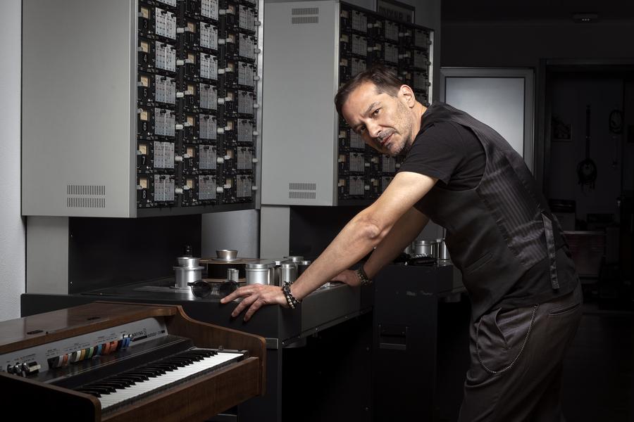 Roberto Lobbe Procaccini in studio pieroperilli
