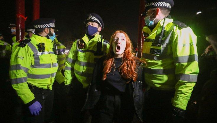 demonstrations for Sarah Everard London