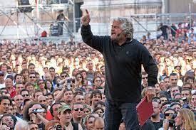 Beppe Grillo comizio