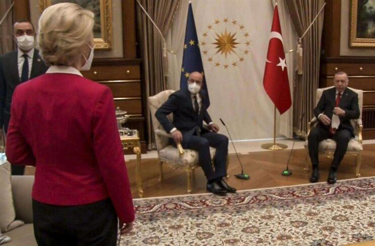 Эрдоган фон дер Ляйен